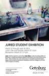 Juried Student Exhibition 2015 by Schmucker Art Gallery