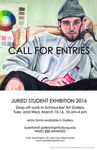 Call for Entries: Juried Student Exhibition 2016 by Schmucker Art Gallery