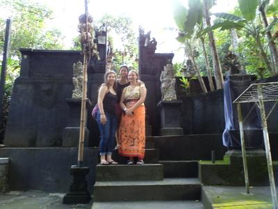 Students at Balinese Bath House