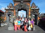 Gettysburg College Students in Bali