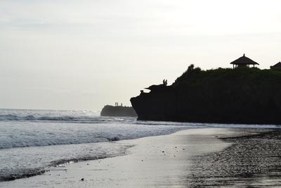 Shoreline at Klinting Pantai beach
