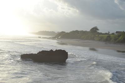 Scenery at Klinting Pantai beach