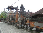 Betara lingsir Temple by Alice C. Broadway