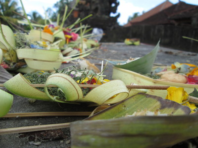 Balinese Religious Offerings