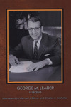 George M. Leader, 1918-2013 by Michael J. Birkner and Charles H. Glatfelter