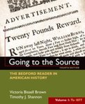 Going to the Source: The Bedford Reader in American History