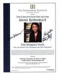 The Women's Vote: Will the Female Vote Determine the Next President?