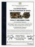 U.S. Space Policy: The Militarization of Space