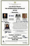 U.S. Space Policy: The Internationalization of Space