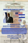 U.S.-Nicaragua Relations: Respectful Engagement to Move Forward by Ambassador Francisco Campbell