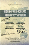 Eisenhower- Roberts Fellows Symposium by Sarah Coleman, Grant Gordon, Evan McCormick, Ethan Porter, Tana Giraldo, and Jacqueline I. Beckwith