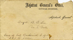 MS-079: Captain Benjamin F. Lee Collection regarding 28th Pennsylvania Infantry and John W. Geary