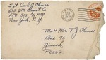 MS-104: World War II Letters from Carl G. Ohmer and Richard E. Ohmer