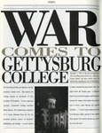 MS-118: Letters Solicited by Jerold Wikoff for Gettysburg Alumni Magazine