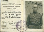 MS-155: Lt. Francis M. Tompkins World War One Scrapbooks