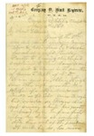 MS-068: Henry P. Clare Letters, Co. D., 9th New York State Militia