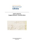 MS – 213: Papers of Edmund F. Churchill