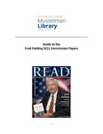 MS – 216: Fred Fielding 9/11 Commission Papers