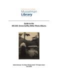 MS – 243: Emma Guffey Miller Photo Albums