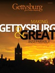 Gettysburg: Our College's Magazine Fall 2014