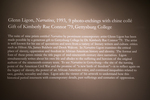 Glenn Ligon: Narratives (Disembark) Suite, Image 13 by Schmucker Art Gallery
