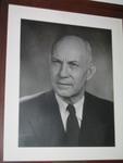 Robert Fortenbaugh Portrait in Weidensall Hall