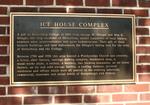 Ice House Complex Plaque