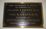 Dedication Plaque at the Health Center