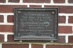 Ivy Week Plaque on Schmucker Hall