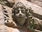 Gargoyles on Glatfelter Hall by Katherine D. Anthony