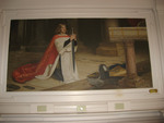 """Silent Doorway to the Past: """"Vigil"""" Painting in Weidensall Hall"""