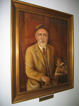 Portrait of Professor Breidenbaugh by Melissa A. Heckel