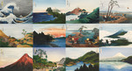 Twelve Views of Mt. Fuji