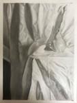 Pear on Cloth by Jordyn M. Markle
