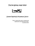 You've Gotta Read This: Summer Reading at Musselman Library (2003) by Musselman Library